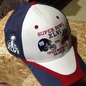 NWT NY Giants Super Bowl XLVI Collectors Cap
